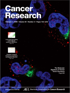 image of Feb 2009 Cancer  Research cover